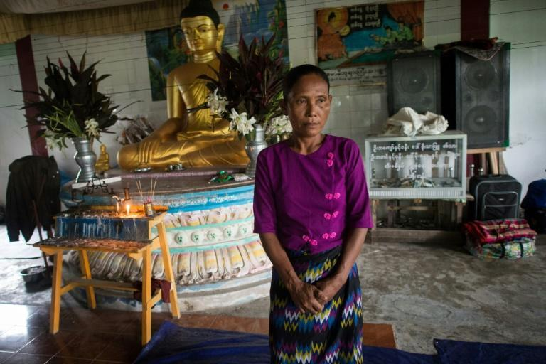 Some 11,000 civilians from Rakhine's Buddhist and Hindu communities have fled the fighting