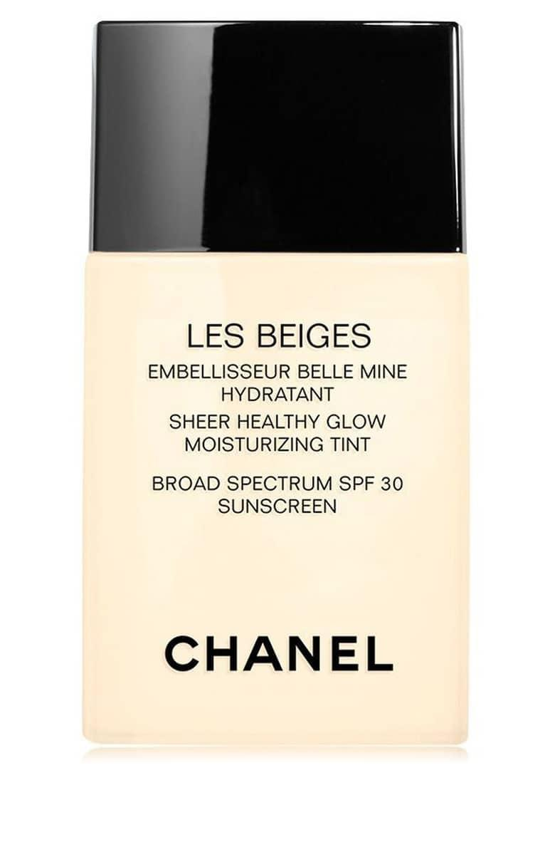 <p>We'll say yes to basically anything Chanel makes, including this lightweight <span>Chanel Les Beiges Sheer Healthy Glow Moisturizing Tint Broad Spectrum SPF 30</span> ($40) that makes your skin look glowy and hydrated.</p>