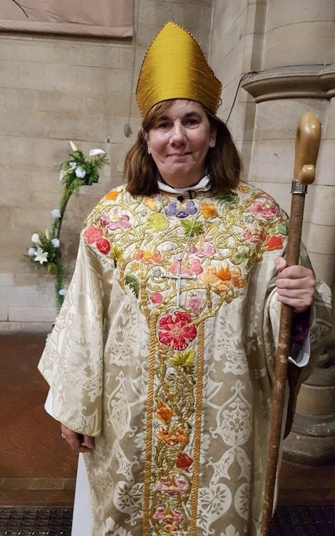 The Rt Revd Karen Gorham, Bishop of Sherborne, has now removed his commission