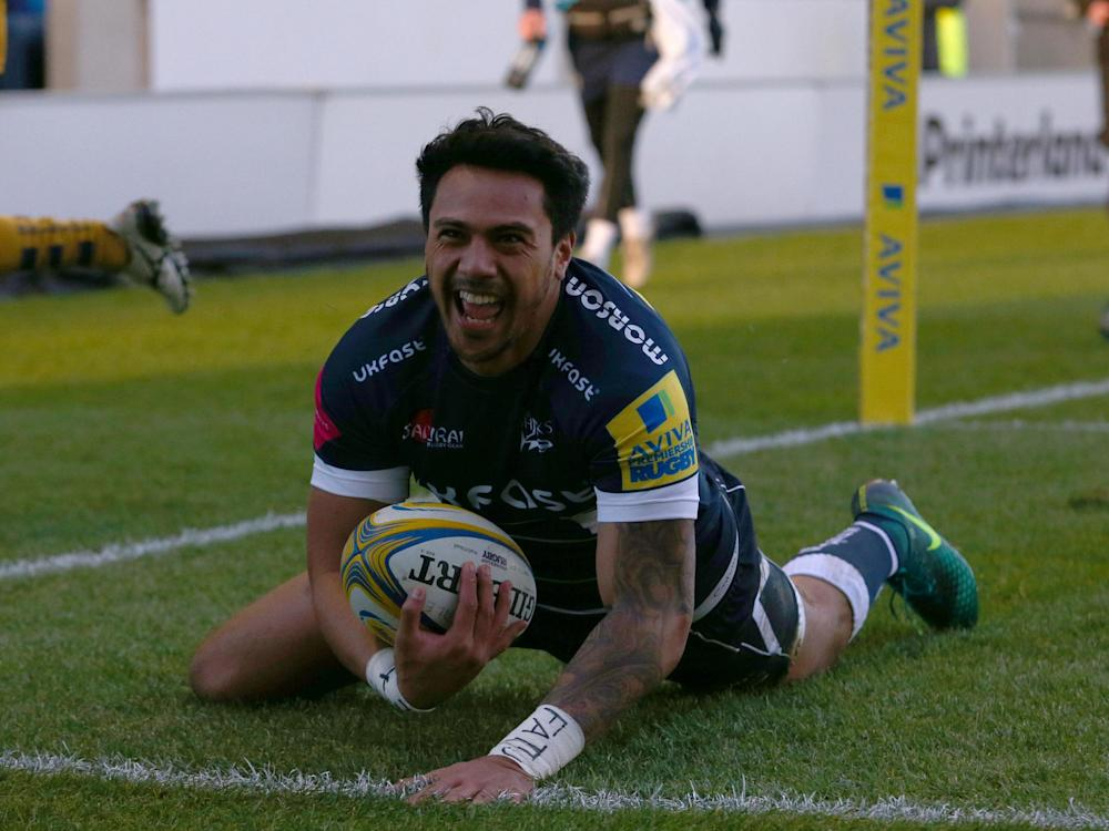 Solomona represented Samoa at rugby league: Getty