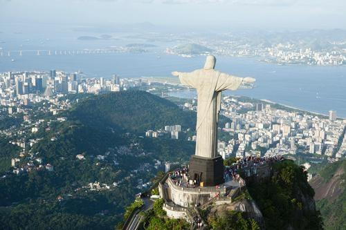 Christ the Redeemer, overlooking Rio