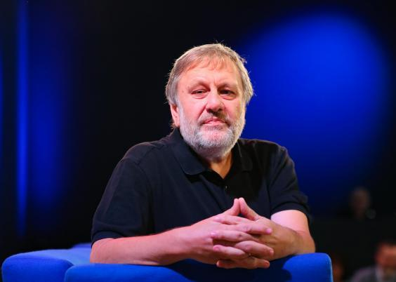Slavoj Zizek says 'the dream of universal liberal democracy is over'