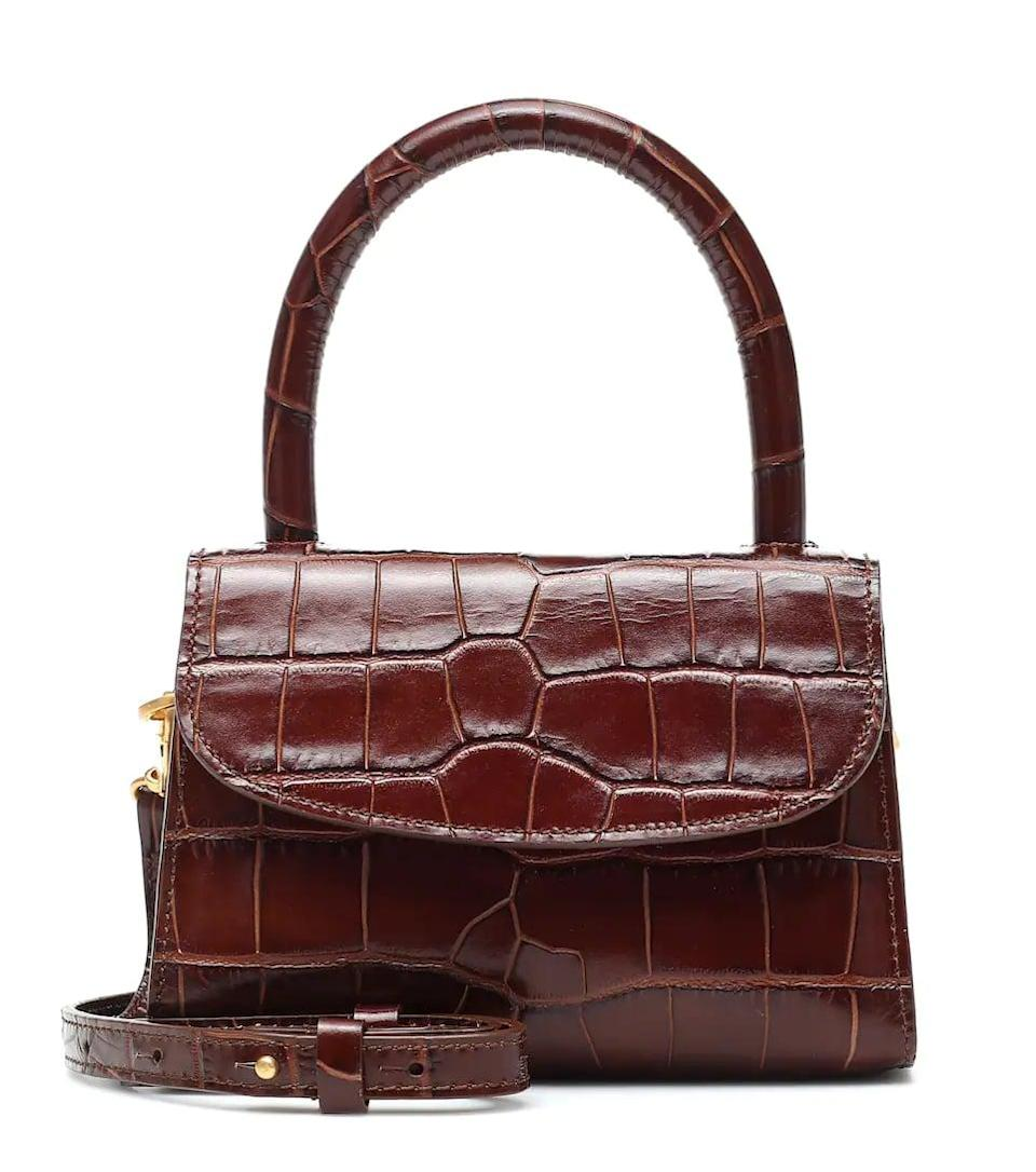 <p>This <span>By Far Mini Croc-effect Tote</span> ($352, originally $503) has been on our wishlist for a while. Now that it's on sale, we may just take the plunge.</p>