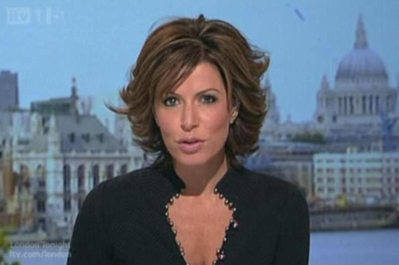 Natasha Kaplinsky was treated for burns and her daughter, 8, was rushed to hospital in the UK