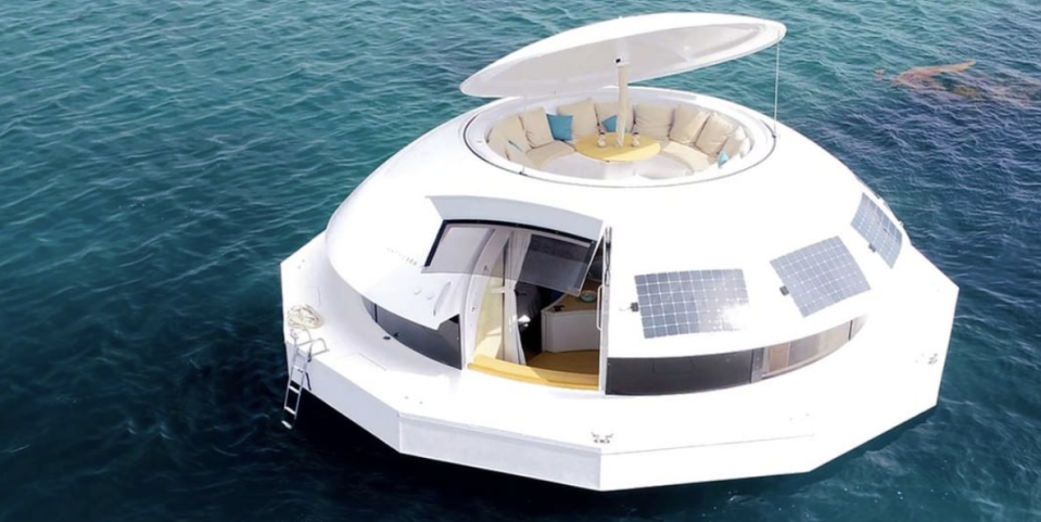 Forget a Boat—You Can Rent This Floating Party Pod That Can Sail Around the World