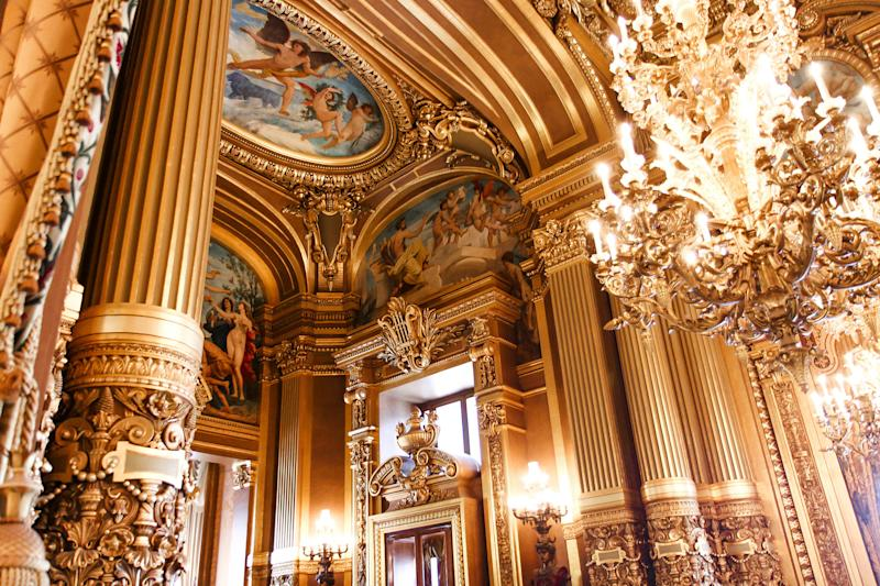 Watch a ballet, opera or concert performance at the Opéra Garnier in Paris for overnight cruise stays - photogolfer - Fotolia