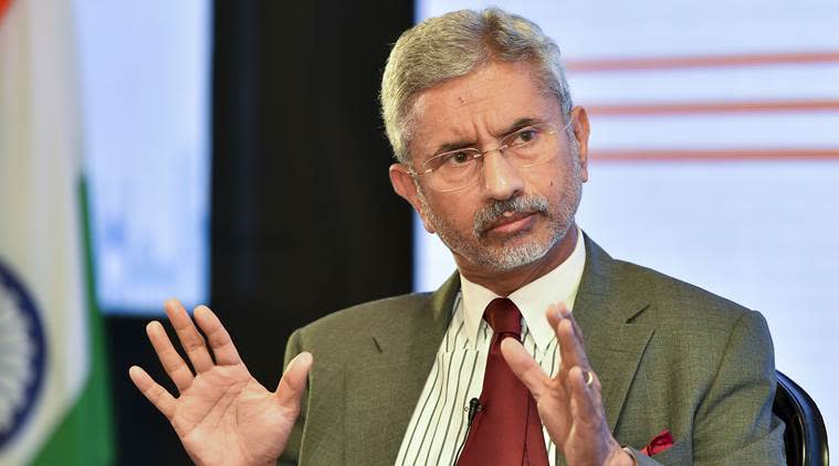 Kashmir news, S Jaishankar Kashmir, Kashmir media J Shankar comment, Article 370 Jaishankar, Article 370 media, indian express news