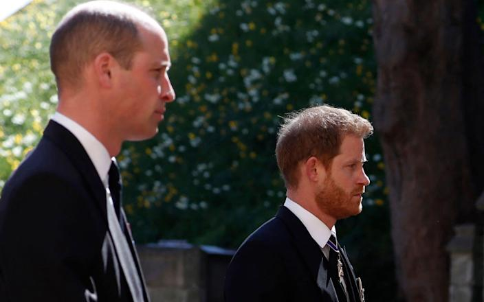 Prince William said he was concerned about the 'damage it risks causing to the game we love' - AFP