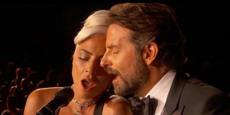 Cooper and Gaga perform at the Oscars