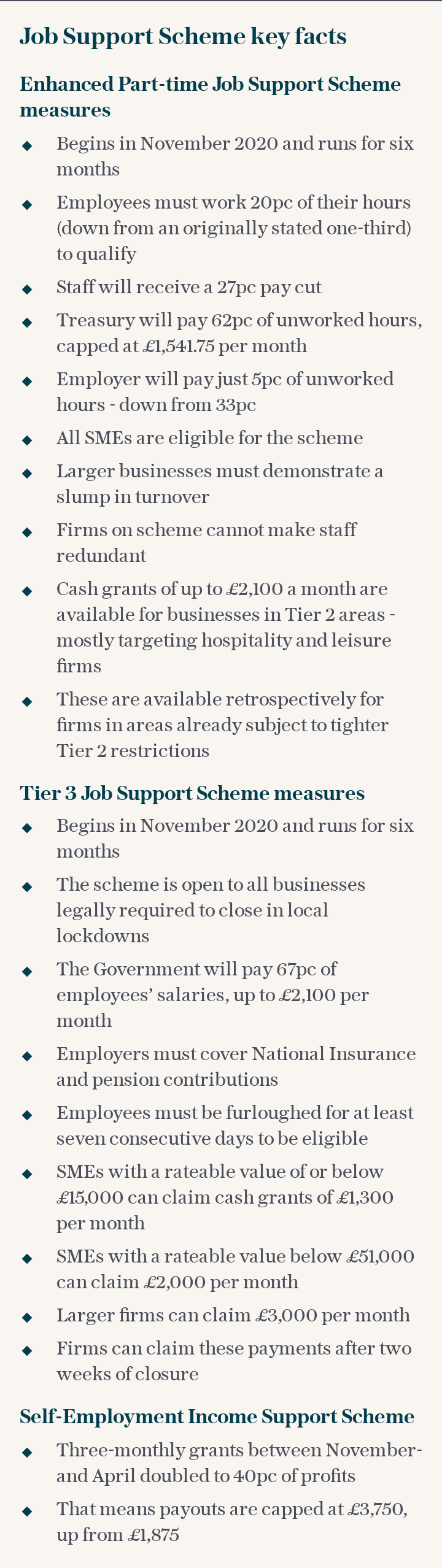 Job Support Scheme key facts
