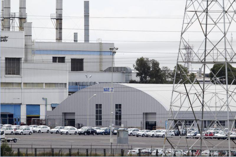 The Volkswagen (VW) automobile manufacturing plant is seen in Puebla near Mexico City