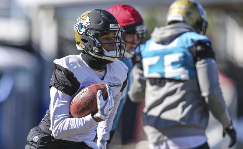 Keelan Cole has come on strong late in the season for the Jaguars. (AP)