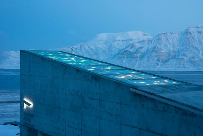 The Svalbard Global Seed Vault has just completed a major upgrade in an attempt to future-proof the vault against the effects of climate change. (Photo: Crop Diversity Trust)