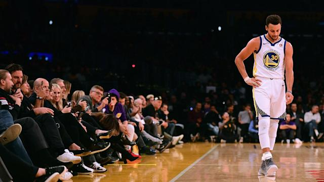 """Klay Thompson delivered a worrying update on the ankle injury suffered by Golden State Warriors team-mate Stephen Curry: """"It's not good."""""""