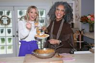 """<p>Carla Hall has become one of the most successful <em>Top Chef </em>alum, becoming a cohost on ABC's <em>The Chew</em> in 2011 and also working as a contributor on shows like <em>Good Morning America</em>. In 2018, she published her cookbook, <em><a href=""""https://www.amazon.com/Carla-Halls-Soul-Food-Celebration/dp/0062669834"""" rel=""""nofollow noopener"""" target=""""_blank"""" data-ylk=""""slk:Carla Hall's Soul Food: Everyday and Celebration"""" class=""""link rapid-noclick-resp"""">Carla Hall's Soul Food: Everyday and Celebration</a>.</em></p>"""