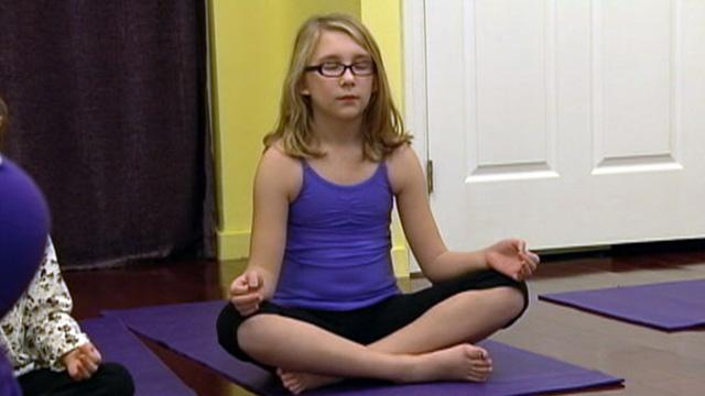 More Kids Turning Into Yogis