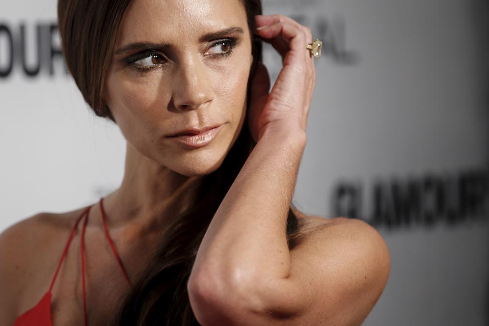 """Designer Victoria Beckham arrives for the """"Glamour Women of the Year Awards"""" in the Manhattan borough of New York November 9, 2015.    REUTERS/Carlo Allegri"""