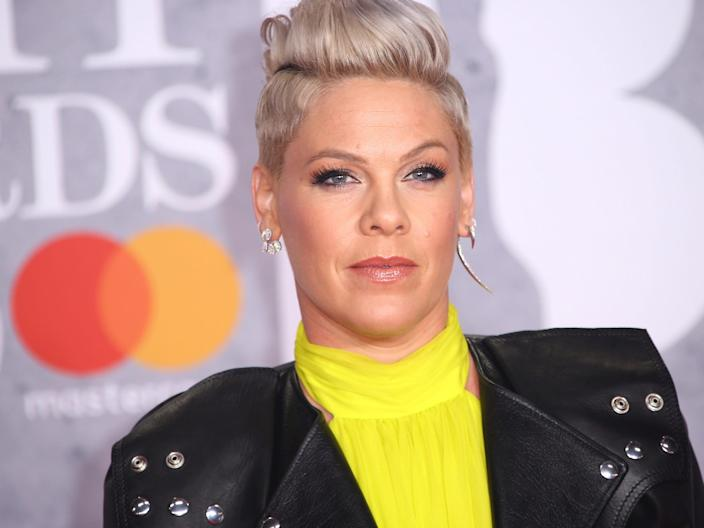 Pink in February 2019.
