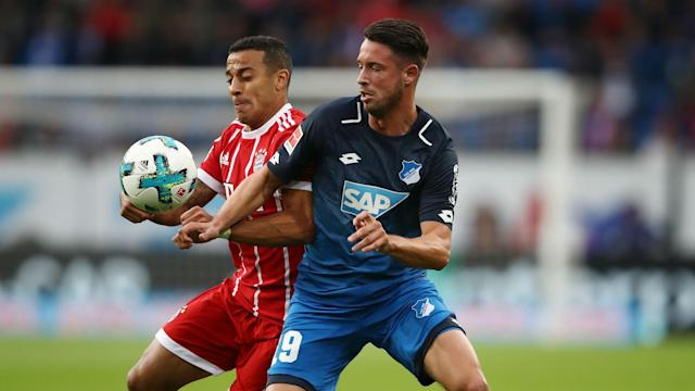 Hoffenheim striker Mark Uth has nine goals in 16 Bundesliga appearances this term and will join Schalke on a free transfer.