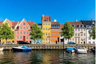 <p>Copenhagen's classically bright facades feel especially vibrant on a sunny summer day.</p>