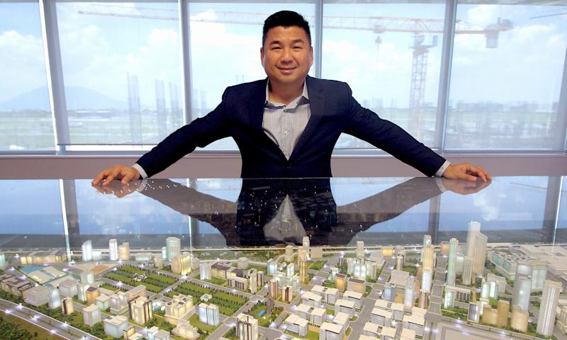 Among the developments being handled by Dennis Uy's PH Resorts Group Holdings are a resort casino in Cebu and a logistics hub in Clark city. (Source: Udenna)