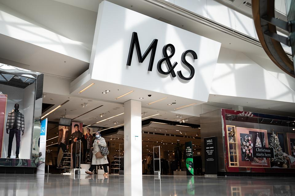Marks and Spencer store at Westfield White City, London. Photo: Leon Neal/Getty Images