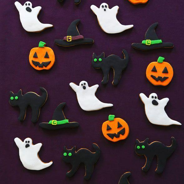 """<p>This Halloween biscuits recipe couldn't be easier. Choose any spooky cookie cutter you like.</p><p><strong><br>Recipe: <a href=""""https://www.goodhousekeeping.com/uk/food/recipes/a569302/halloween-biscuits-recipe/"""" rel=""""nofollow noopener"""" target=""""_blank"""" data-ylk=""""slk:Halloween biscuits"""" class=""""link rapid-noclick-resp"""">Halloween biscuits</a></strong></p>"""