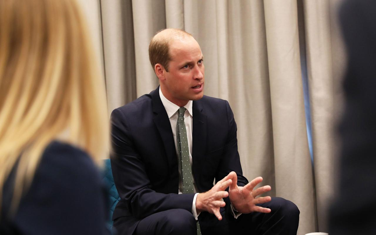 Prince William launches anti-bullying plan to combat 'banter escalation scenarios'