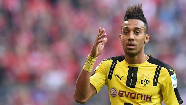 <p>It stings not to have Falcao here, but Aubameyang's consistent record speaks for itself. </p> <br><p>For a player who misses a canny few chances per game, there a few players in world football who know their role in a team as well as the Gabonese man, as a hard running, line-leading, complete forward.</p> <br><p> He's pretty fast too, dunno if you've heard. </p>