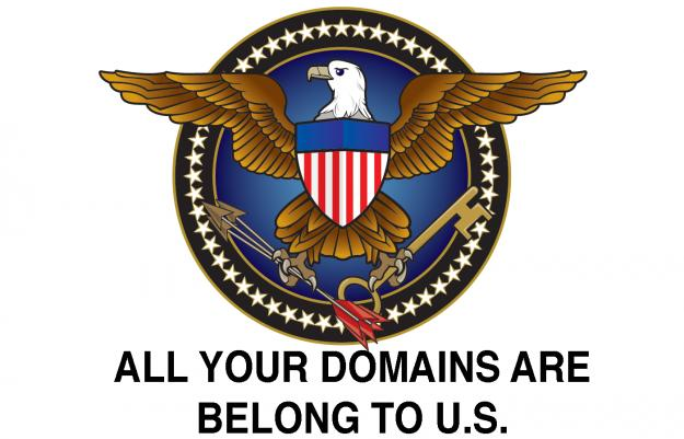 US gov't claims right to seize any .com domain