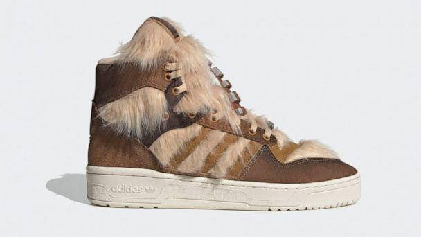 PHOTO: Adidas and Star Wars have joined forces to release a 'Chewbacca' inspired sneaker. (Adidas)