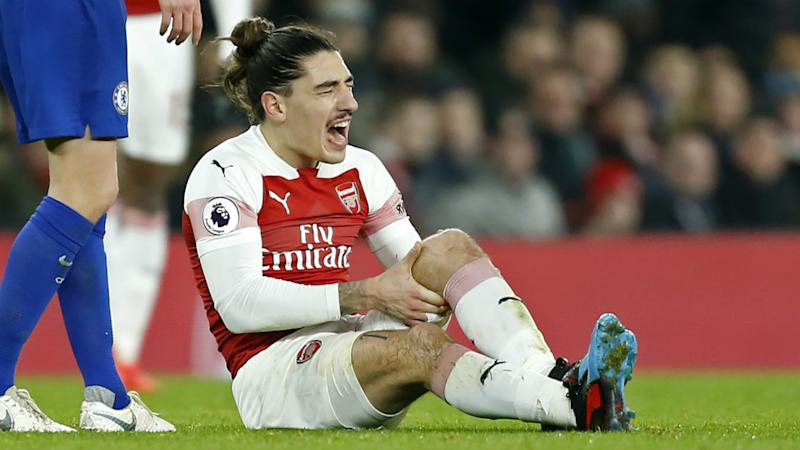 Bellerin only a 'few weeks away' from returning to Arsenal training after recovering from ACL injury