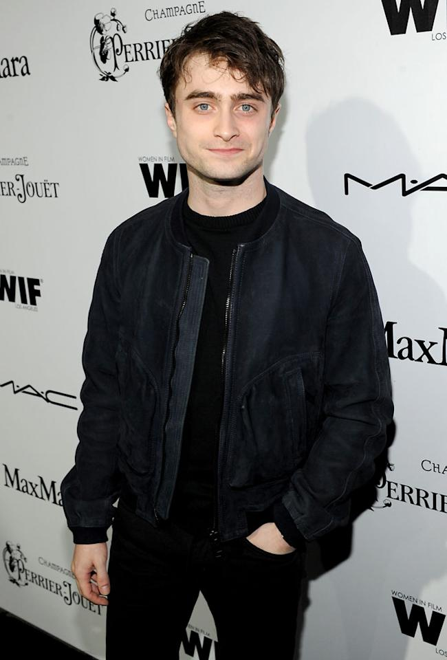 Daniel Radcliffe attends the 6th Annual Women In Film Pre-Oscar Party hosted by Perrier Jouet, MAC Cosmetics and MaxMara at Fig & Olive on February 22, 2013 in Los Angeles, California.