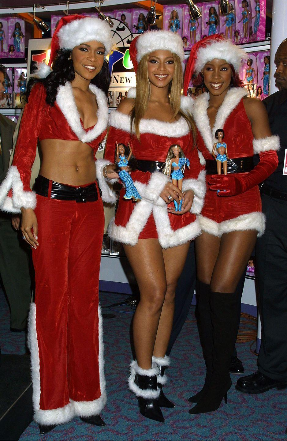 """<p>Back when Beyoncé was just one member of Destiny's Child, this shortened version of the Christmas classic blared from boomboxes everywhere. </p><p><a class=""""link rapid-noclick-resp"""" href=""""https://www.amazon.com/8-Days-Christmas-Destinys-Child/dp/B00138F0QC?tag=syn-yahoo-20&ascsubtag=%5Bartid%7C10055.g.2680%5Bsrc%7Cyahoo-us"""" rel=""""nofollow noopener"""" target=""""_blank"""" data-ylk=""""slk:AMAZON"""">AMAZON</a> <a class=""""link rapid-noclick-resp"""" href=""""https://go.redirectingat.com?id=74968X1596630&url=https%3A%2F%2Fmusic.apple.com%2Fus%2Falbum%2F8-days-of-christmas%2F192877331&sref=https%3A%2F%2Fwww.goodhousekeeping.com%2Fholidays%2Fchristmas-ideas%2Fg2680%2Fchristmas-songs%2F"""" rel=""""nofollow noopener"""" target=""""_blank"""" data-ylk=""""slk:ITUNES"""">ITUNES</a></p><p><strong>RELATED: </strong><a href=""""https://www.goodhousekeeping.com/holidays/christmas-ideas/how-to/g2203/christmas-decoration-ideas/"""" rel=""""nofollow noopener"""" target=""""_blank"""" data-ylk=""""slk:70+ Christmas Decorating Ideas for a Joyful Holiday Home"""" class=""""link rapid-noclick-resp"""">70+ Christmas Decorating Ideas for a Joyful Holiday Home</a></p>"""