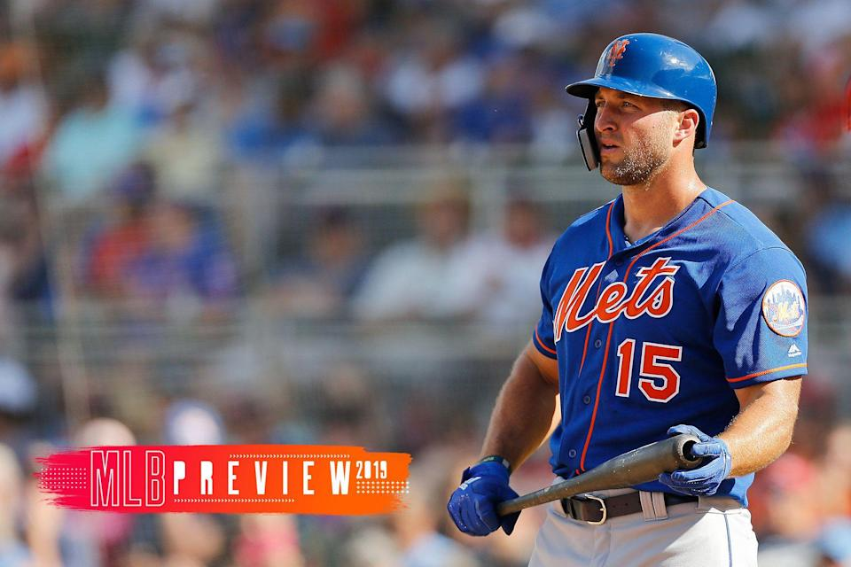 Will Tim Tebow make the Mets in 2019? We offer our predictions. (Getty Images)