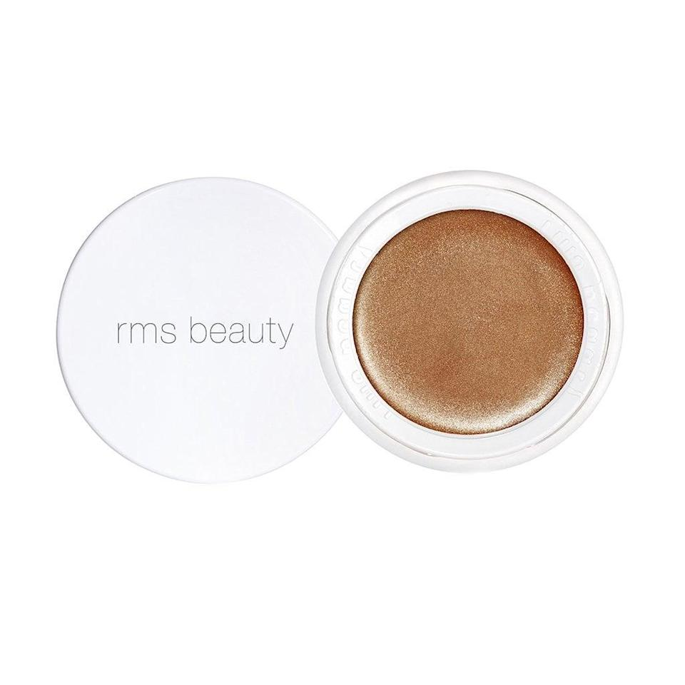 """<p>""""The <a href=""""https://www.popsugar.com/buy/RMS-Beauty-Buriti-Bronzer-90346?p_name=RMS%20Beauty%20Buriti%20Bronzer&retailer=rmsbeauty.com&pid=90346&price=28&evar1=bella%3Aus&evar9=43881299&evar98=https%3A%2F%2Fwww.popsugar.com%2Fbeauty%2Fphoto-gallery%2F43881299%2Fimage%2F47576649%2FRMS-Beauty-Buriti-Bronzer&list1=makeup%2Cbeauty%20products%2Cacne%2Cbeauty%20shopping%2Cbeauty%20tips%2Cbeauty%20interview%2Cbeauty%20news%2Cskin%20care&prop13=mobile&pdata=1"""" class=""""link rapid-noclick-resp"""" rel=""""nofollow noopener"""" target=""""_blank"""" data-ylk=""""slk:RMS Beauty Buriti Bronzer"""">RMS Beauty Buriti Bronzer</a> ($28) is a cult-favorite that helps give life and a flattering, warm glow to all skin tones, while disguising the appearance of breakouts. The glow comes courtesy of buriti oil, which is anti-inflammatory and provides antioxidant protection against environmental aggressors."""" - Foley</p>"""