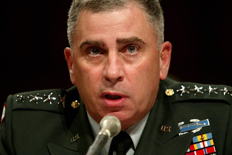 Trump picks retired general for ambassador to Saudi Arabia