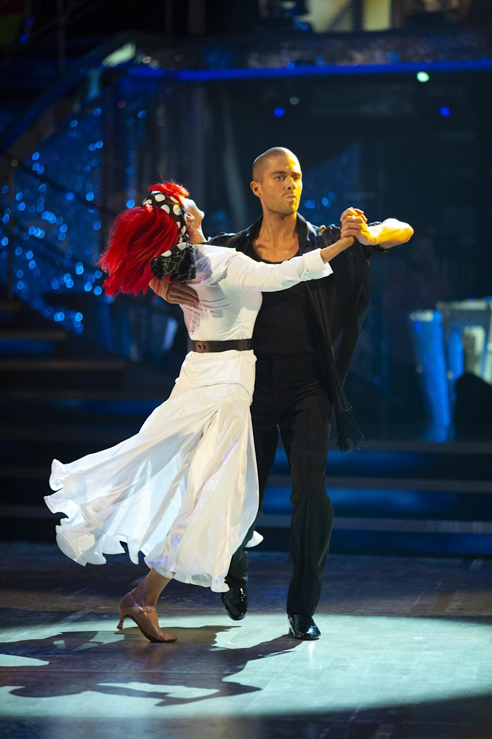Max George and Dianne Buswell.