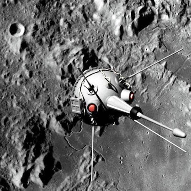 September 14, 1959 - Soviet Moon Crash Jolts The Space Race Pace