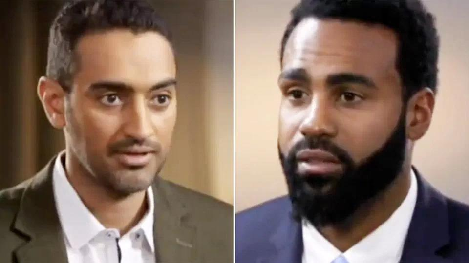 Pictured here, The Project host Waleed Aly interviews Heritier Lumumba in 2017.