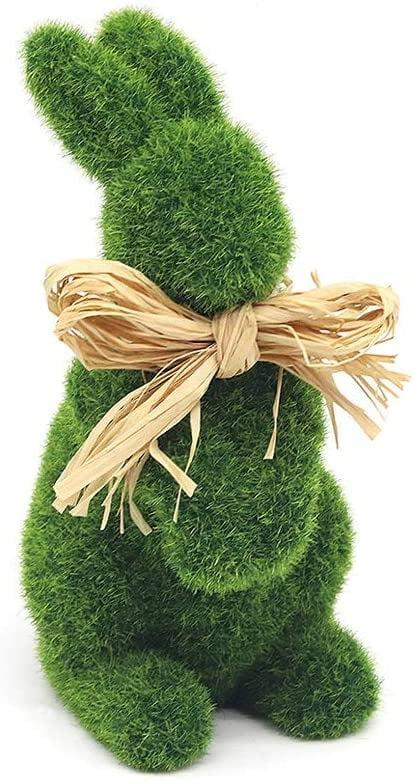 <p>Bring the springtime indoors with this <span>Faux Moss Easter Bunny Garden Statue</span> ($18).</p>