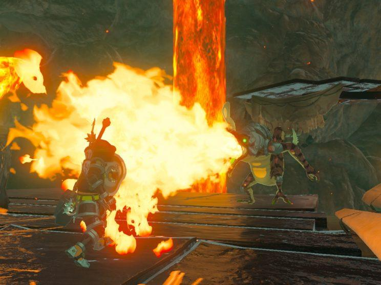 Breath of the wild getting hot.