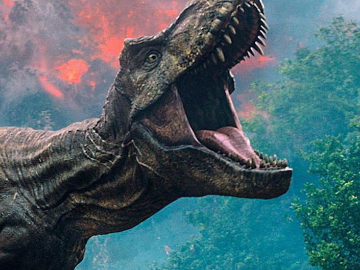 A scene from the upcoming film Jurassic World: Fallen Kingdom: UNIVERSAL PICTURES