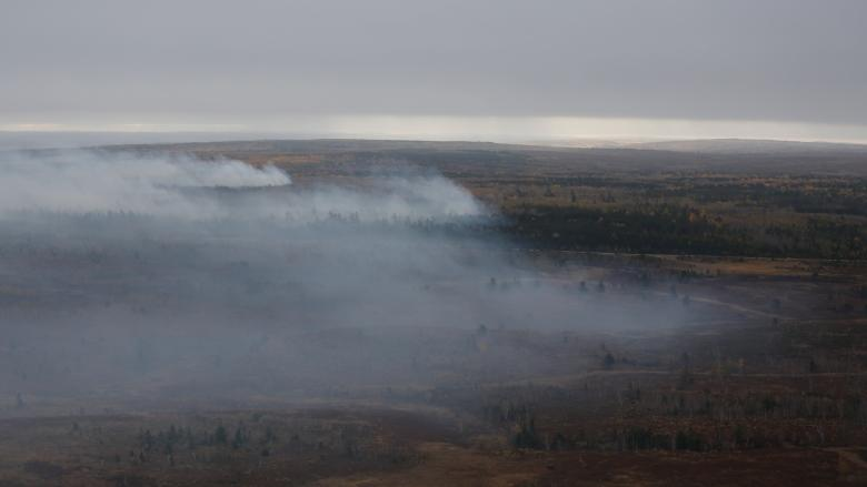 3 fires at Base Gagetown finally declared out