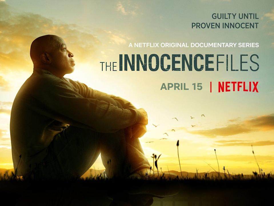 """The first look at """"The Innocence Files"""" released by Netflix."""