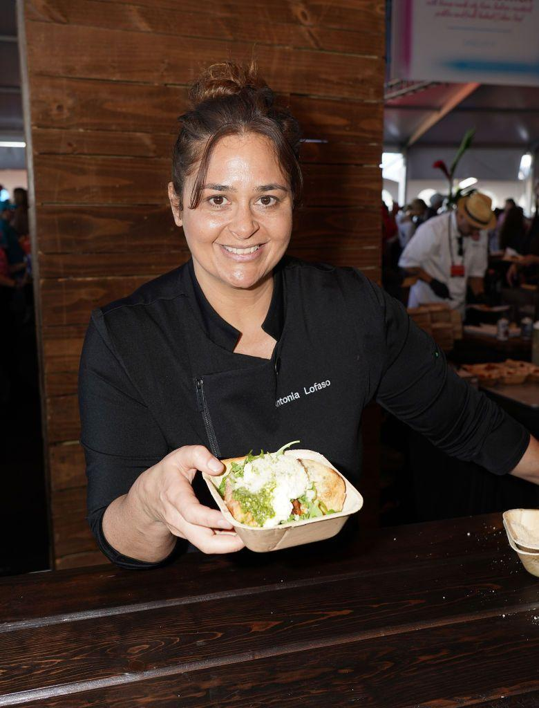 <p>After <em>Top Chef, </em>Antonia built a career as a TV personality, author, and restauranteur. She has published multiple cookbooks<em>, </em>is a reoccurring judge on the Food Network's <em>Cutthroat Kitchen </em>and <em>Guy's Grocery Games</em>, and is the chef and owner of three restaurants.</p>