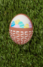 "<p>Talk about a meta Easter egg! To achieve this look, draw a basket on the front of a white egg using a brown paint pen. Next, use pastel paint pens to draw eggs. When the paint is dry, add details on the eggs with a white paint pen.</p><p><a class=""link rapid-noclick-resp"" href=""https://www.amazon.com/Sharpie-Permanent-Paint-Marker-Point/dp/B00584Q1O2?tag=syn-yahoo-20&ascsubtag=%5Bartid%7C10050.g.1282%5Bsrc%7Cyahoo-us"" rel=""nofollow noopener"" target=""_blank"" data-ylk=""slk:SHOP WHITE PAINT PENS"">SHOP WHITE PAINT PENS</a></p>"