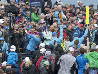 The Open 2019: Crowds flock to see Rory McIlroy, Tiger Woods as Open returns to Northern Ireland