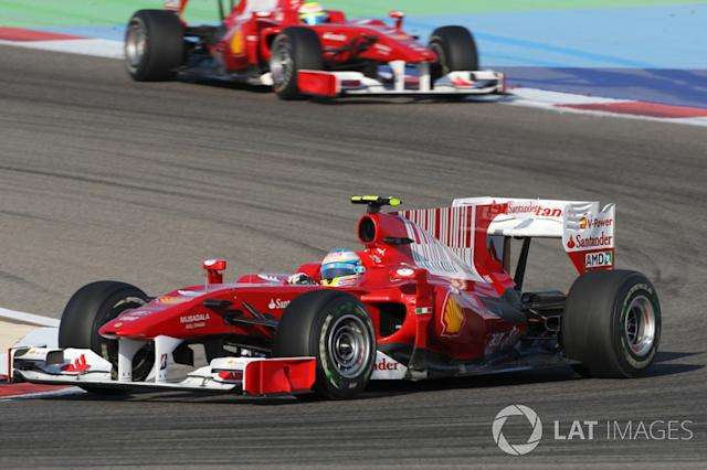 "2010: Fernando Alonso, Ferrari F10 <span class=""copyright"">Sutton Motorsport Images</span>"