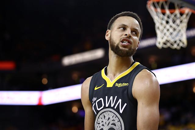 Did Stephen Curry play his final game at Oracle Arena on Friday? (Getty)